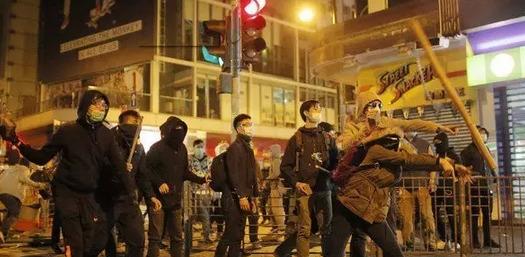 香港动乱图片