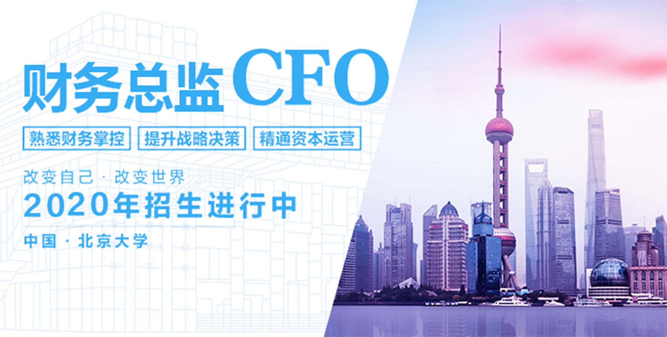 实战型财务总监(CFO)高级研修班