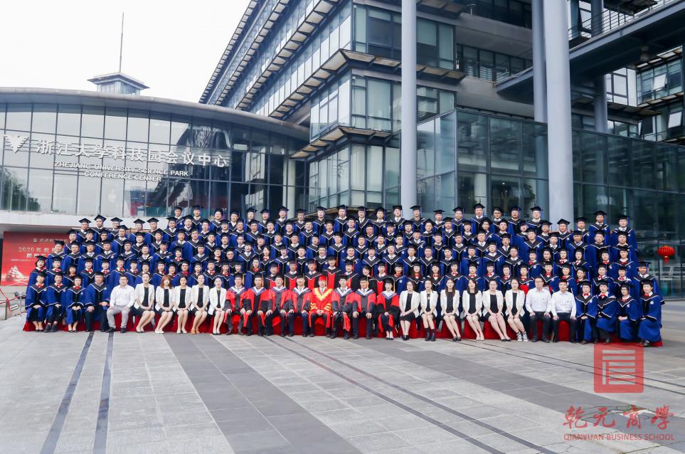 乾元商学院2020年香港财经学院硕博学位项目毕业典礼